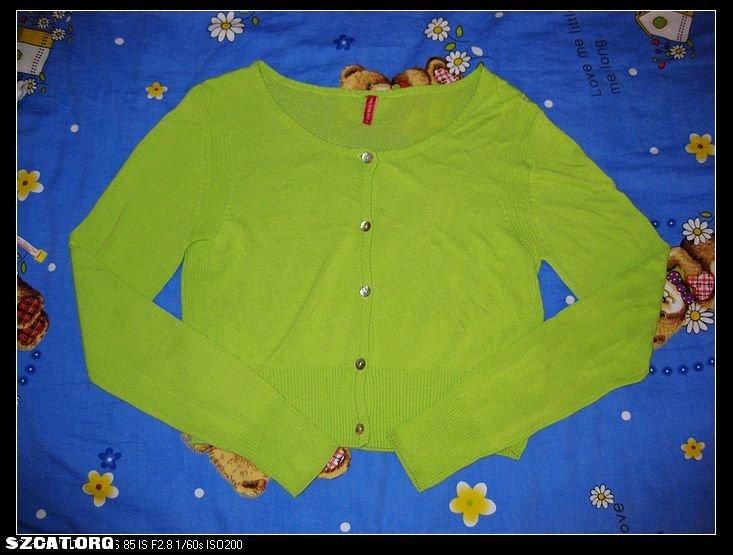 果绿色小外套